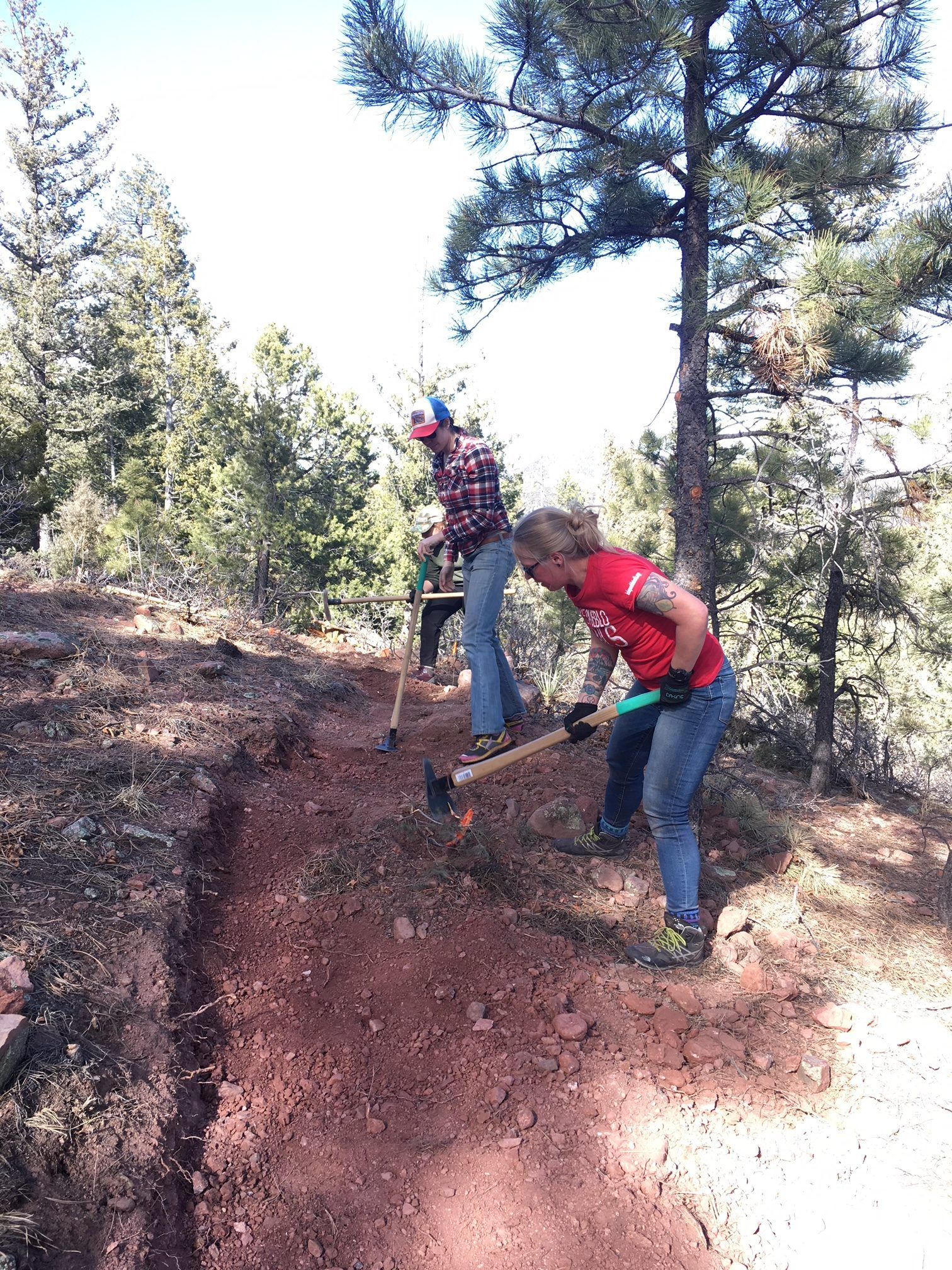 Adam D. with Southern Colorado Trail Builders (2)