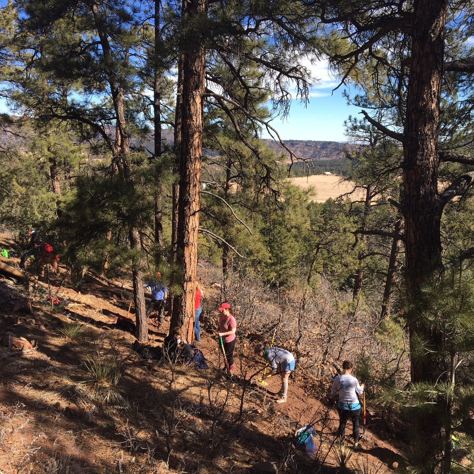 Adam D. with Southern Colorado Trail Builders (3)